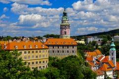 Cesky Krumlov, Tsjechische Republiek Stock Afbeelding