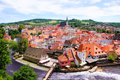 Cesky Krumlov View Royalty Free Stock Photos