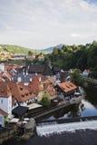 Cesky Krumlov city view royalty free stock photos