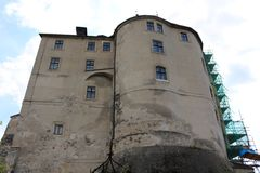 Cesky Sternberk城堡,捷克 库存图片