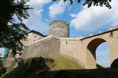 Cesky Sternberk城堡,捷克 免版税库存照片