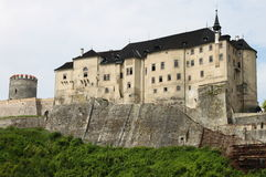 Cesky Sternberk castle Royalty Free Stock Photography