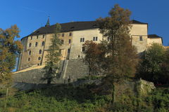 Cesky Sternberk castle Stock Image