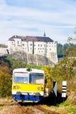 Cesky Sternberk Castle Royalty Free Stock Photography
