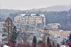 Cesky Sternberk castle, Czech republic Royalty Free Stock Images