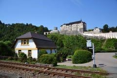Cesky Sternberk Castle in Czech Republic, Eastern Europe Royalty Free Stock Images
