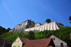 Cesky Sternberk Castle in Czech Republic, Eastern Europe Stock Photography