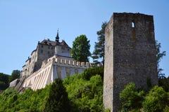 Cesky Sternberk Castle in Czech Republic, Eastern Europe Stock Photo