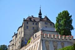 Cesky Sternberk Castle in Czech Republic, Eastern Europe Stock Images