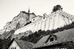 Cesky Sternberk castle, Czech republic, travel destination, colo Stock Images