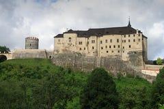 cesky sternberk för slott Royaltyfria Bilder