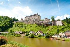 cesky sternberk för slott Arkivfoto