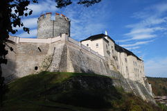 cesky sternberk för slott Arkivbilder