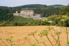 cesky sternberk för slott Arkivfoton