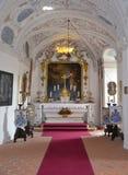 CESKY STERNBERK - 24. MAI: Schloss Cesky Sternberk 24. MAI 2014 Stockbild