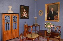 CESKY STERNBERK - 24. MAI: Schloss Cesky Sternberk 24. MAI 2014 Lizenzfreie Stockbilder