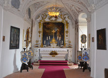 CESKY STERNBERK - 24 MEI: Het kasteel van Ceskysternberk 24 MEI, 2014 stock afbeelding