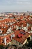 布拉格 cesky捷克krumlov中世纪老共和国城镇视图 免版税库存照片
