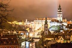 Ceskykrumlov. Czech Republic old town UNESCO preserve royalty free stock photos