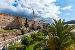 Cesme城堡,伊兹密尔 库存照片