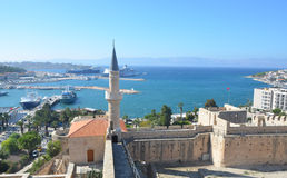 Cesme, Izmir, Turkey - October 13, 2013 : View of Cesme from the castle. Stock Photos