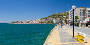 Cesme waterfront, Turkey Stock Images