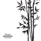 Cespuglio di bambù illustrazione vettoriale