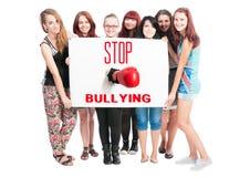 Cessez d'intimider Image libre de droits