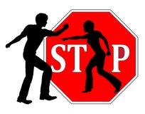 violence d 39 interdiction contre des femmes illustration stock image 52240078. Black Bedroom Furniture Sets. Home Design Ideas