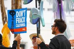 Cessez de fracking Images libres de droits