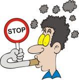 Cessez le fumage illustration libre de droits