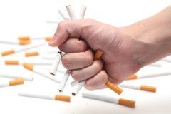 Cessez le fumage ! Photographie stock libre de droits
