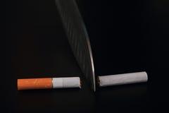 Cessez le fumage Images libres de droits