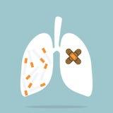 Cessez le tabagisme Images stock