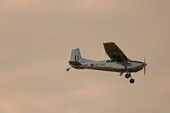CESSNA-185固定翼飞机 免版税图库摄影