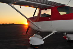 Cessna 150 Image stock