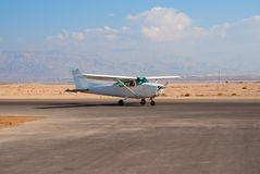 Cessna-172 Royalty Free Stock Photography