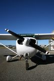 Cessna 172 AUC. A Cessna 172, AUC at Murray Field outside of Perth, Western Australia stock photography