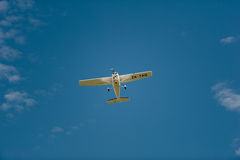 Cessna 172R in flight Stock Images