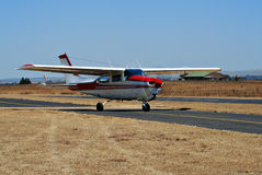 Cessna 210 - Closer Stock Image