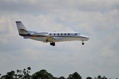 Cessna 560xl interes strumienia Obrazy Royalty Free