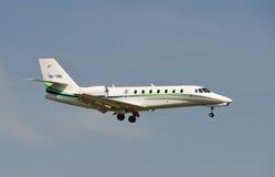 Cessna 680 lizenzfreies stockfoto