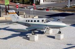 Cessna 421B, Malaga Photographie stock