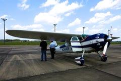 Cessna 195 Businessliner Arkivbilder