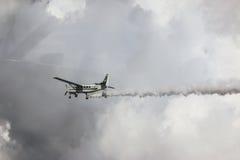 Cessna 208 Caravan and sky Royalty Free Stock Image