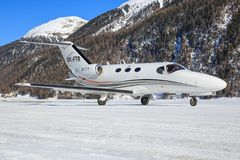 Cessna 510 Citaat royalty-vrije stock foto's