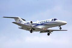 Cessna525a Citaat Royalty-vrije Stock Foto