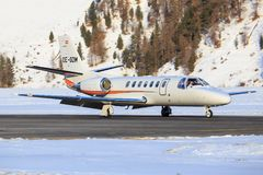 Cessna 560 Citaat Encore+ stock foto