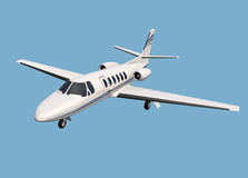 Cessna Citation 550 business jet Stock Photography