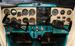 Cessna cockpit Stock Photos